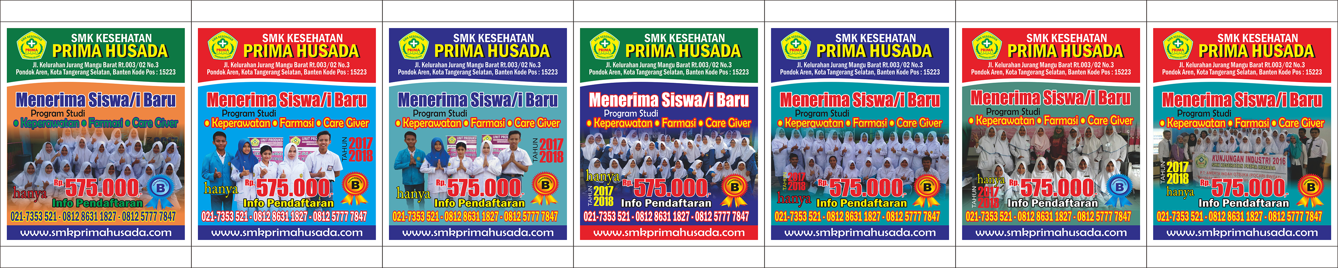 banner tiang primus