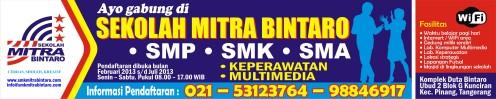 Spanduk Mitra 2013