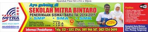 Spanduk Mitra 2014-2015