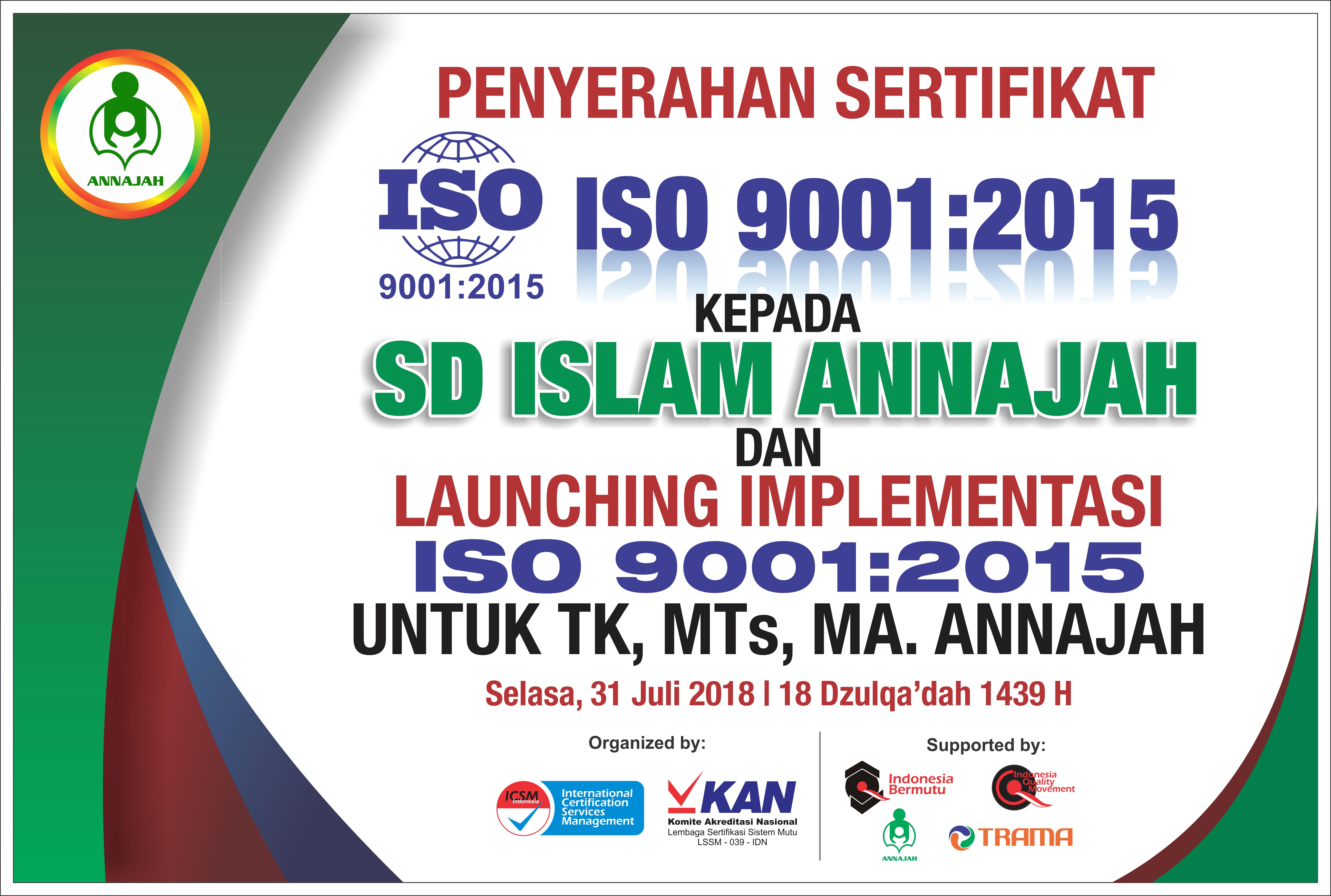 Penyerahan ISO 9001_2105
